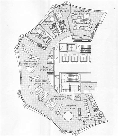 unusual floor plans penthouses in chicago floor plans spired condo