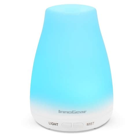 essential oil diffuser innogear 100ml aromatherapy essential oil diffuser