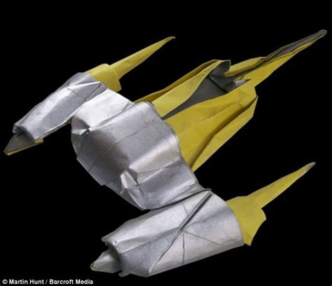 Origami Starfighter - origami naboo starfighter style guide