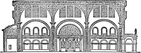 Architecture Company by Basilica Of Constantine Clipart Etc