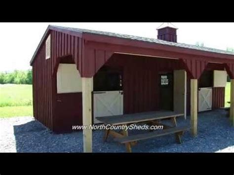 equine    shed row horse shelter run  horse