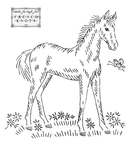 vintage embroidery pattern free vintage embroidery transfer patterns horses