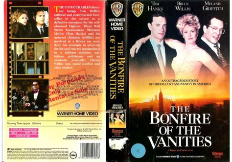 The Bonfire Of The Vanities Summary by Bonfire Of The Vanities The On Warner Home United