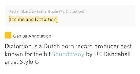 born genius meaning it s me and diztortion fester skank by lethal bizzle