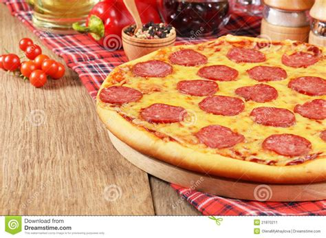 table pizza careers stock image pizza on the table image 21870211