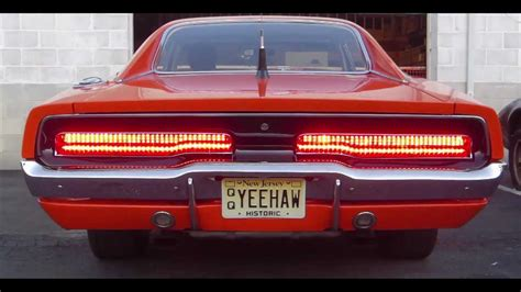 dodge dart back lights 1969 dodge charger quot the general quot with sequential led