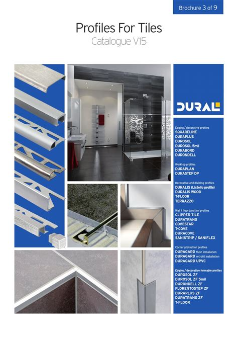 Family Home Plans dural profiles for tiles by ctc issuu