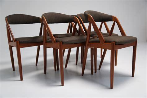 kristiansen dining chairs 6 jpeg mid century