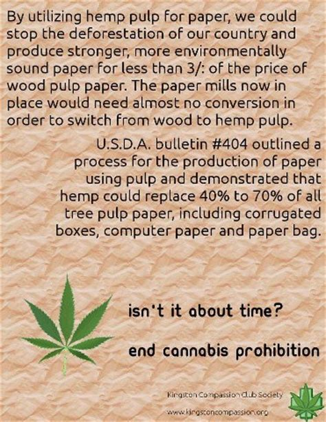 How To Make Hemp Paper - hemp healthy today hemp paper fact