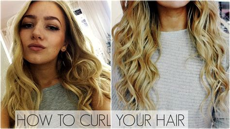 hair tutorial wand watch how to curl your hair with a curling wand autos post