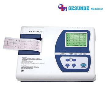 Mesin Ekg jual mesin ekg murah 3 channel harga alat 3 channel cardiac care standar medis toko