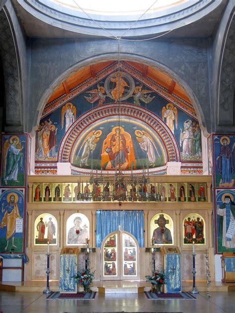 fresco church fresco painting an orthodox church gregory of