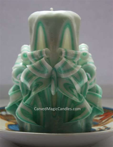 Handmade Carved Candles - handmade carved candles carved magic candles
