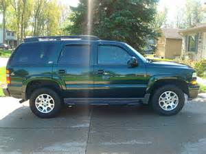 2002 chevy tahoe z71 forest green flickr photo