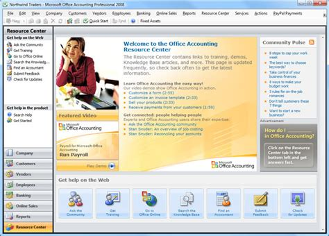 Office Express Microsoft Office Accounting Express 2009 Free