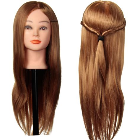 mannequin head to practice braiding in st louis 30 real human hair training head cutting braiding