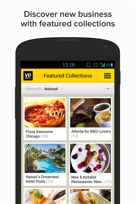 pages android yp yellow pages local search android apps on play