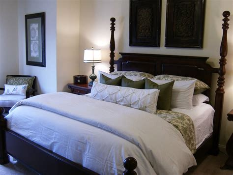 how to dress a bed with pillows white and green bedding traditional bedroom valspar