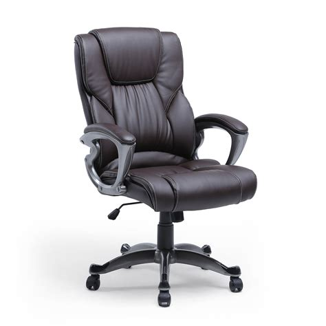 high back executive pu leather ergonomic office desk computer chair high back pu leather executive ergonomic office chair desk
