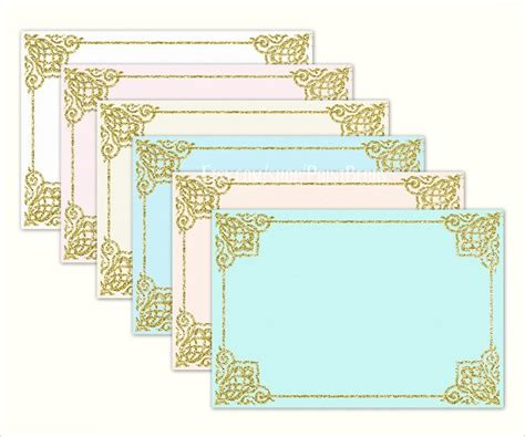 envelopes sample templates