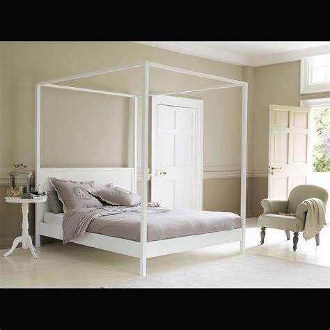 letto baldacchino maison du monde great letto a baldacchino x cm bianco sporco in legno