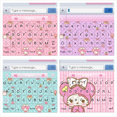 go keyboard themes sms pretty droid themes candy kitty go theme pack