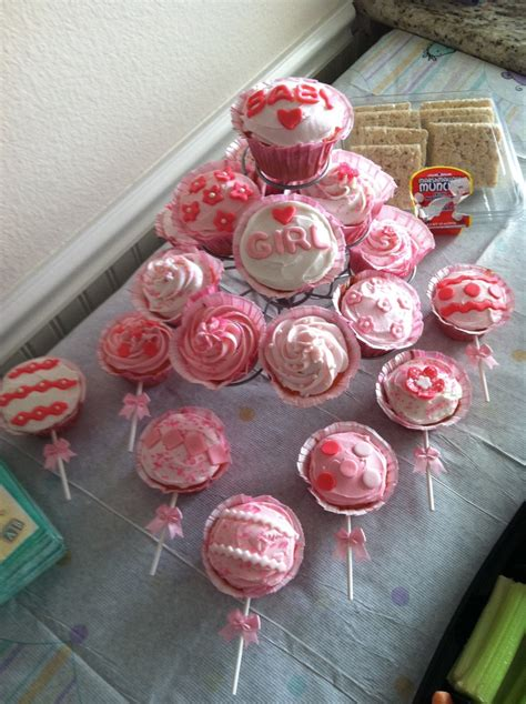 Baby Shower Cupcake Rattles by It S A Baby Shower Rattle Cupcakes Strawberry Flavor
