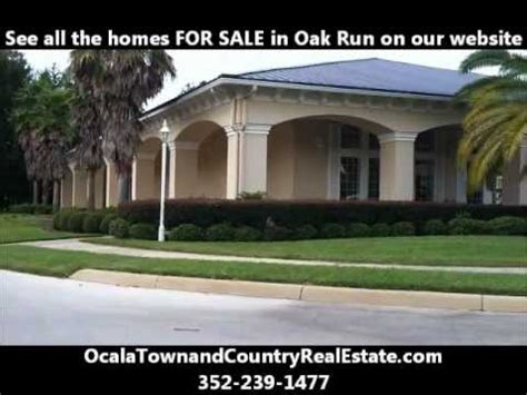 homes for sale florida retirement oak run