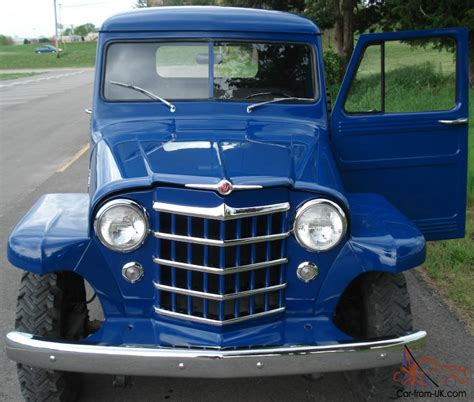 willys jeep truck for sale 1951 willys jeep pickup
