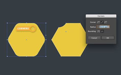 draw hexagon illustrator how to draw and edit live shapes adobe illustrator cc