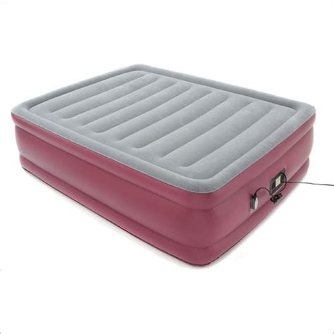 raised air bed with remote in and grey mattress news