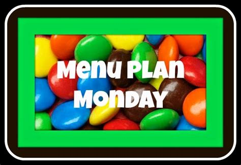 by anto on monday january 19th 2015 at 1128 pm the horton family menu plan monday january 19th