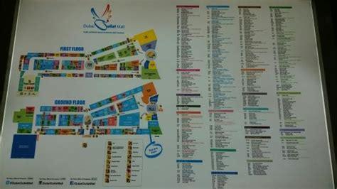 dubai mall layout map mall map picture of dubai outlet mall dubai tripadvisor