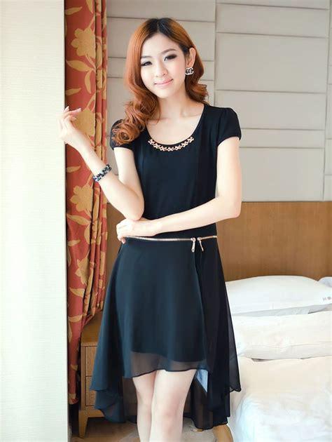 Styles That Stick Black Dress by Modern Style Zip Up Black Detachable Dress