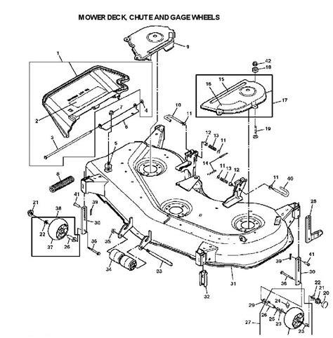 deere deck parts diagram deere lx277 garden tractor spare parts