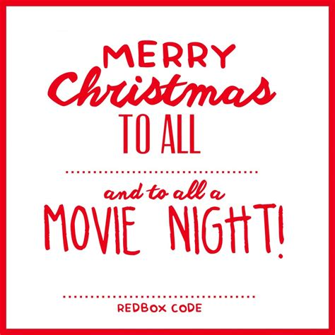 Gift Cards For Redbox - christmas movie night redbox gift idea see vanessa craft