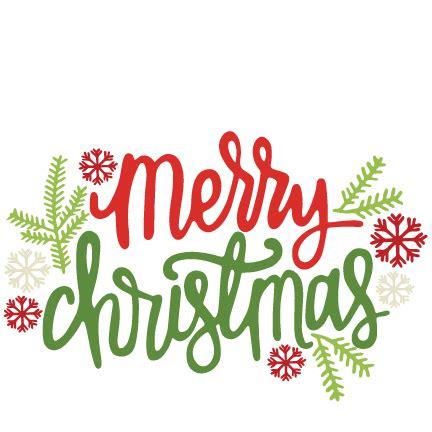 merry christmas title svg scrapbook cut file cute clipart files  silhouette cricut pazzles