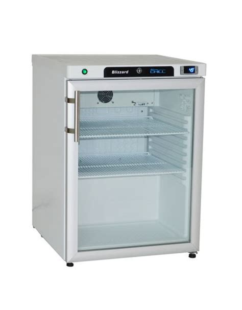Counter Fridge Glass Door by Blizzard Counter Ss Refrigerator With Glass Door
