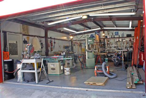 layout of home workshop woodshop