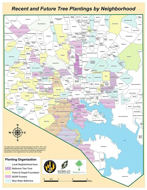 baltimore city map treebaltimore maps