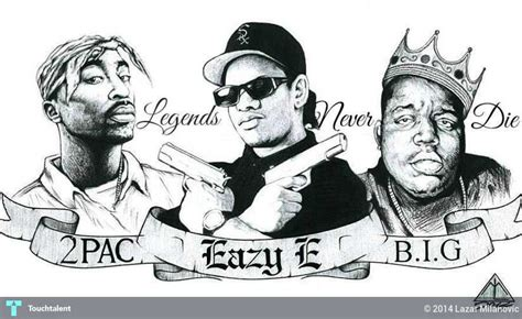 rap kings legends never die sketching lazar milanovic