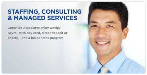 crossfire group staffing consulting manages services