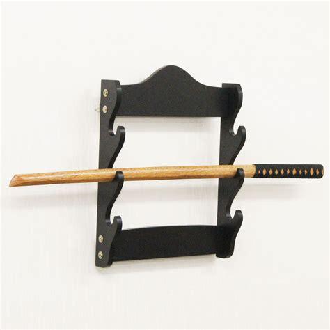 Sword Rack by Wall Mounted 3 Tier Sword Display Rack Stand Holder Hanger