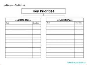 Prioritized To Do List Template Search Results For Free Printable Grocery List With