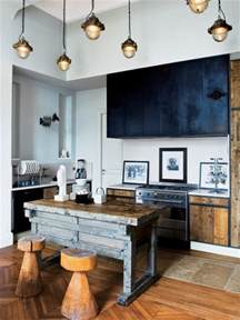 good home construction creating a rustic industrial look