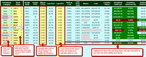 Stock Tracking Spreadsheet by The Best Free Stock Portfolio Tracking Spreadsheet Using Drive