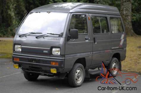 mitsubishi van 1988 1988 mitsubishi mmc 4x4 mini van