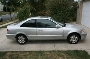 purchase used 1999 honda civic ex coupe 2 door 1 6l silver