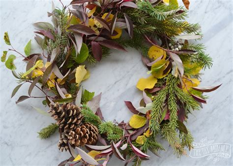 how to make a wreath from branches diy foraged fall wreath 13 more wreath ideas