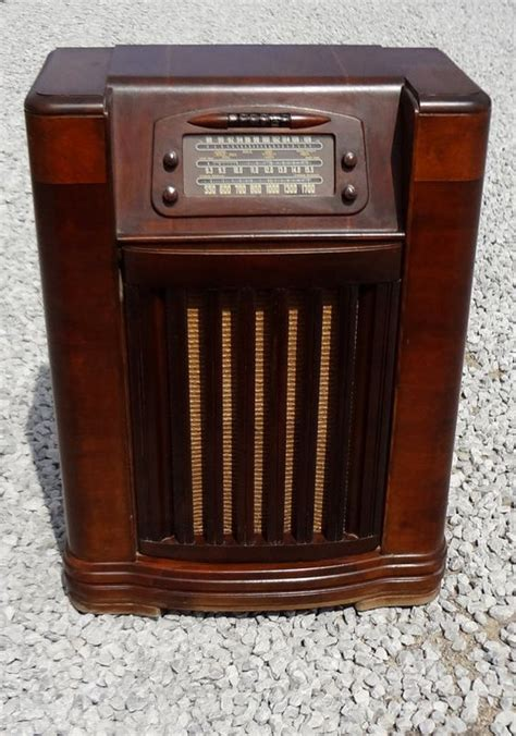 Philco Record Player Cabinet by Vintage Philco Console Radio Record Player By